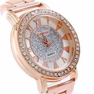 Đồng Hồ thời trang Kanima Diamond Ladies Golden cực sang cho bạn nữ