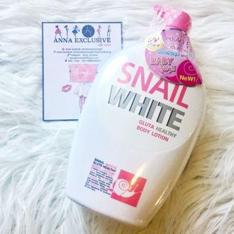 Hình ảnh củaSữa tắm trắng da SNAIL WHITE Ốc sên 800ml-Thái lan