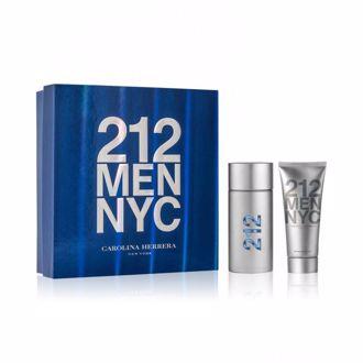 Hình ảnh củaBộ quà tặng nước hoa, gel cạo râu after shave Carolina Herrera 212 Men NYC 100ml