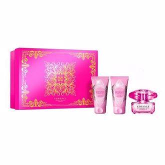 Hình ảnh củaBộ nước hoa, dưỡng thể, sữa tắm Versace Bright Crystal Absolu EDP 50ml