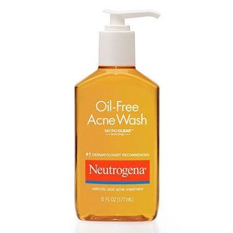Hình ảnh củaSữa Rửa Mặt TRỊ MỤN NEUTROGENA OIL FREE - ACNE WASH (Xách Tay Mỹ)