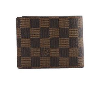Ví Nam Louis Vuitton Ca Rô Nâu (Có túi nhỏ bên trong)