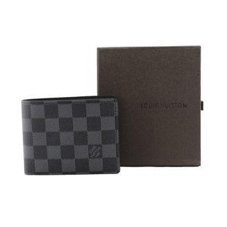 Hình ảnh củaVí Nam Louis Vuitton Ca Rô VN089 (Có túi nhỏ bên trong)