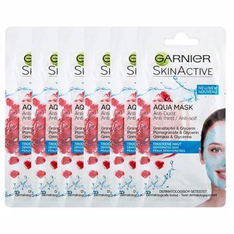 Hình ảnh củaMặt Nạ Thủy Tinh- Chiết xuất từ Lựu Garnier Skinactive Aqua Mask 8mL (Xách Tay Chính Hãng)