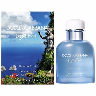 Hình ảnh củaDolce & Gabbana Light Blue Beauty Of Capri Pour Homme EDT 125ml