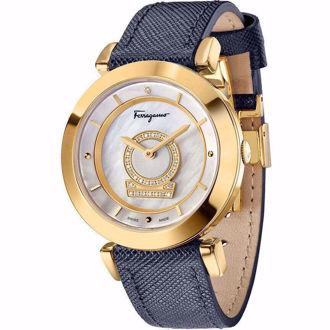 Hình ảnh củaĐồng Hồ Nữ SALVATORE FERRAGAMO FQ4060013 Minuetto Diamond Watch 37mm (Xách Tay Chính Hãng)