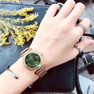 Đồng Hồ Thời Trang Versace (Màu Xanh Lá)