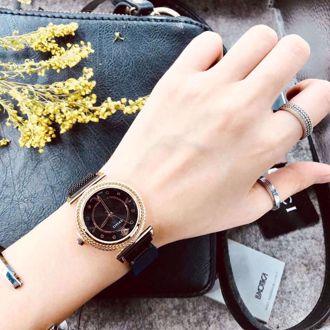 Đồng Hồ Thời Trang Versace (Màu Đen)