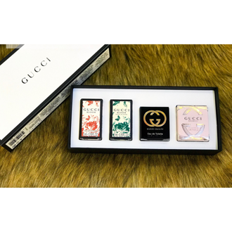 Hình ảnh củaSet nước hoa mini Gucci cho nữ (4 chai 5ml)