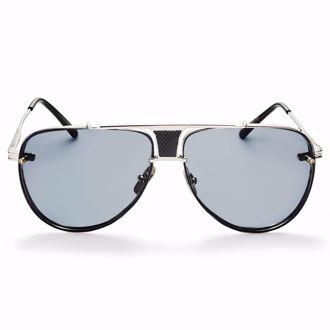 Kính mát Winstonne Ashford Sunglasses - Gold/Blue(Xách Tay Chính Hãng)