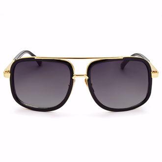 Kính mát Winstonne Men's Enzo Sunglasses - Black (Xách Tay Chính Hãng)