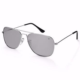Hình ảnh củaKính mát Winstonne Men's Polarised Christoff Sunglasses - Silver(Xách tay chính hãng) -HẾT HÀNG