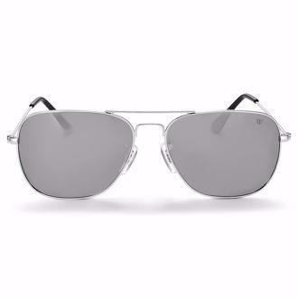 Kính mát Winstonne Men's Polarised Christoff Sunglasses - Silver(Xách tay chính hãng) -HẾT HÀNG