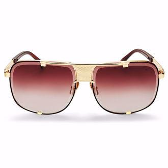 Kính mát Winstonne Tobias Sunglasses Men's  - Gold/Brown(Xách Tay Chính Hãng)
