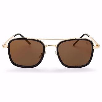 Kính Mát Winstonne Sunglasses Men's -Gold/Black(Xách Tay Chính Hãng)