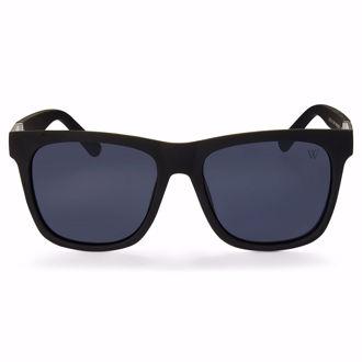Kính mát Winstonne Dylan Wayfarer Polarised Sunglasses Men's -Matte Black/Grey(Xách Tay Chính Hãng)