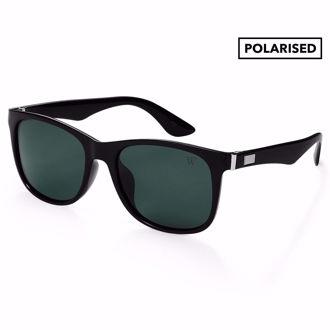 Hình ảnh củaKính Mát Winstonne Polarised Sunglasses Men- lack/Green(Xách Tay Chính Hãng)