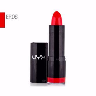 Hình ảnh củaSon Lì Dưỡng NYX Extra Creamy Round Lipstick Eros- Đỏ Tươi (Xách Tay Chính Hãng)