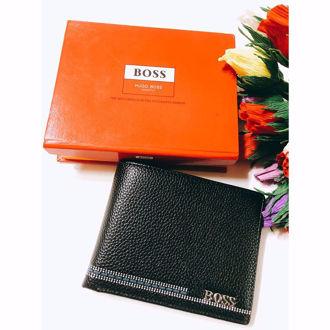 Hình ảnh củaVí Da Mềm Hugo Boss - HB.A45.02 ( Màu Đen)