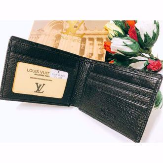 Ví Da Mềm Louis Vuitton- LV.A55.01 ( Màu Đen)