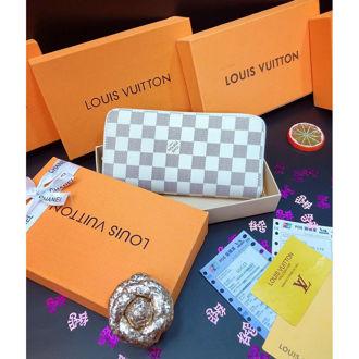 Ví Da Louis Vuitton Khóa Kéo _VDA2B2