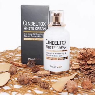 Kem truyền trắng Cindel Tox White Cream 50ml -HÀN QUỐC CHÍNH HÃNG